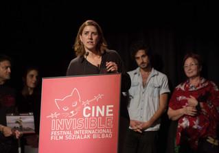 GRAB AND RUN recibe en Bilbao el Premio Equidad de Género!! 9º Festival Internacional de Cine Invisi