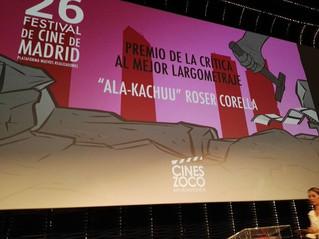 GRAB AND RUN won the Critics Award for Best Film - Festival de Cine de Madrid FCM-PNR 2017