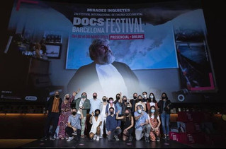 The Amnesty International Award goes to Room without a view!! Thank you DocsBarcelona!!