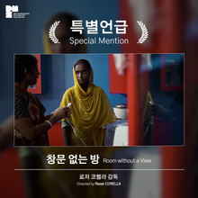 Such good news! Room without a view got a Special Mention from the jury at DMZ DOCS in Korea!