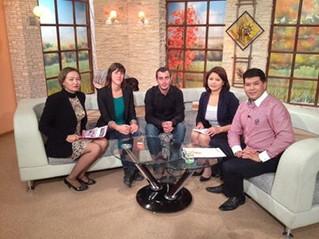 Interview at Kyrgystan TV