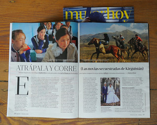 """The spanish magazine MUJER HOY publishes an extens article on """"Grab and run"""""""