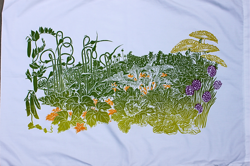 Garden pillowcase
