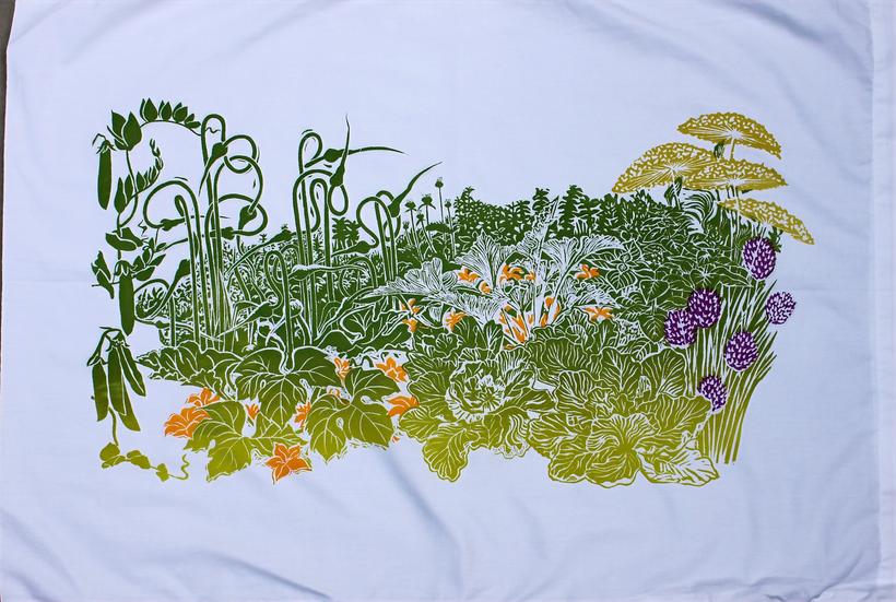 Garden pillowcase