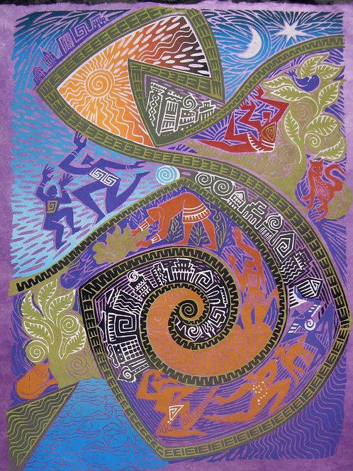 Purple Passion Print