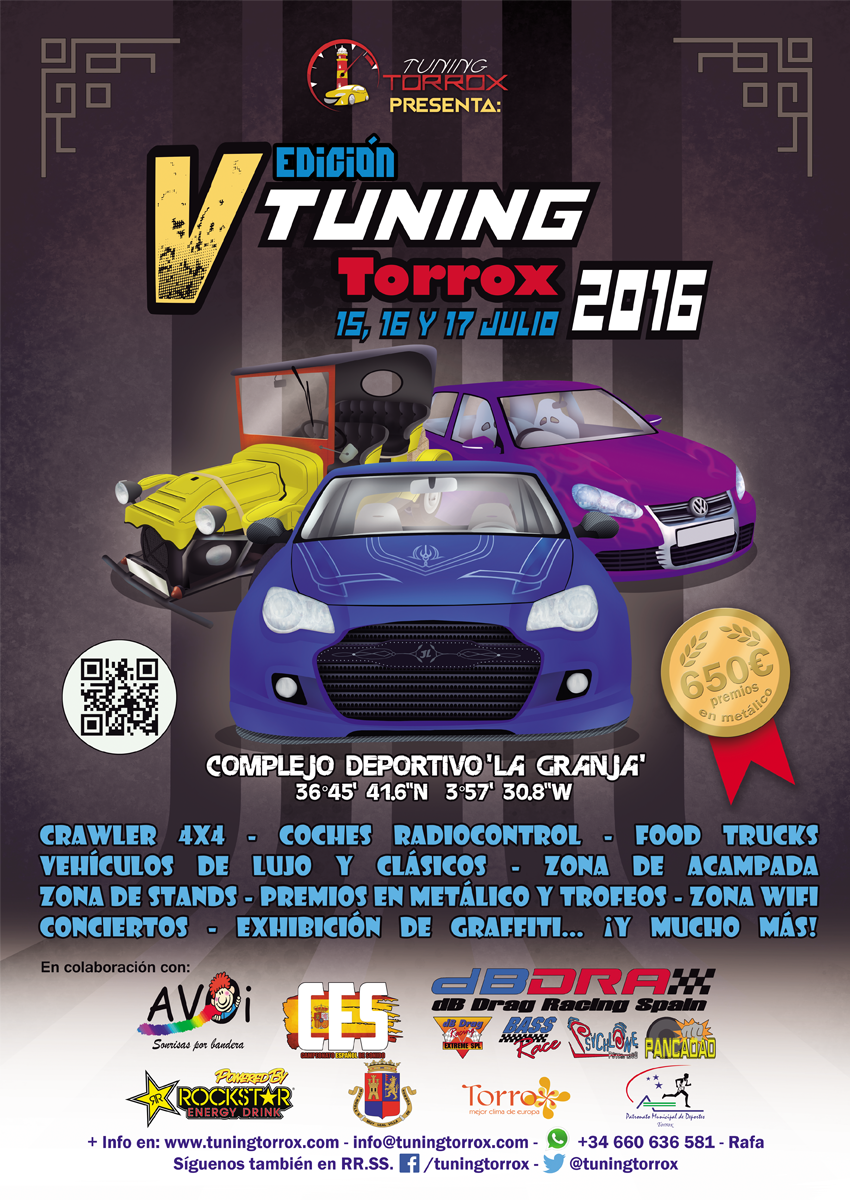 Event poster - Tuning Torrox