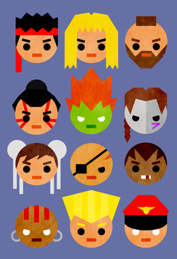 Street Fighter 2 mini