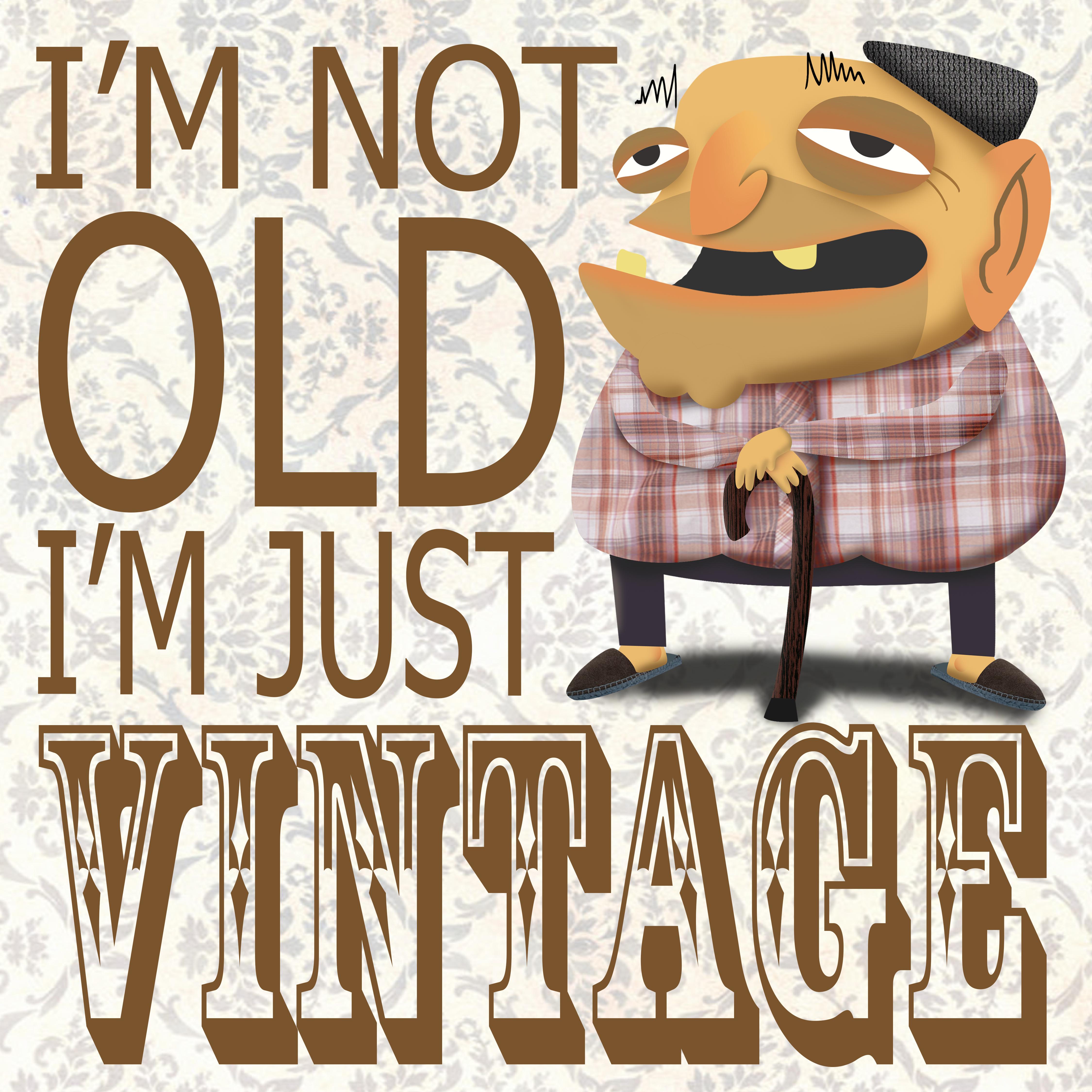 Vintage grandpa