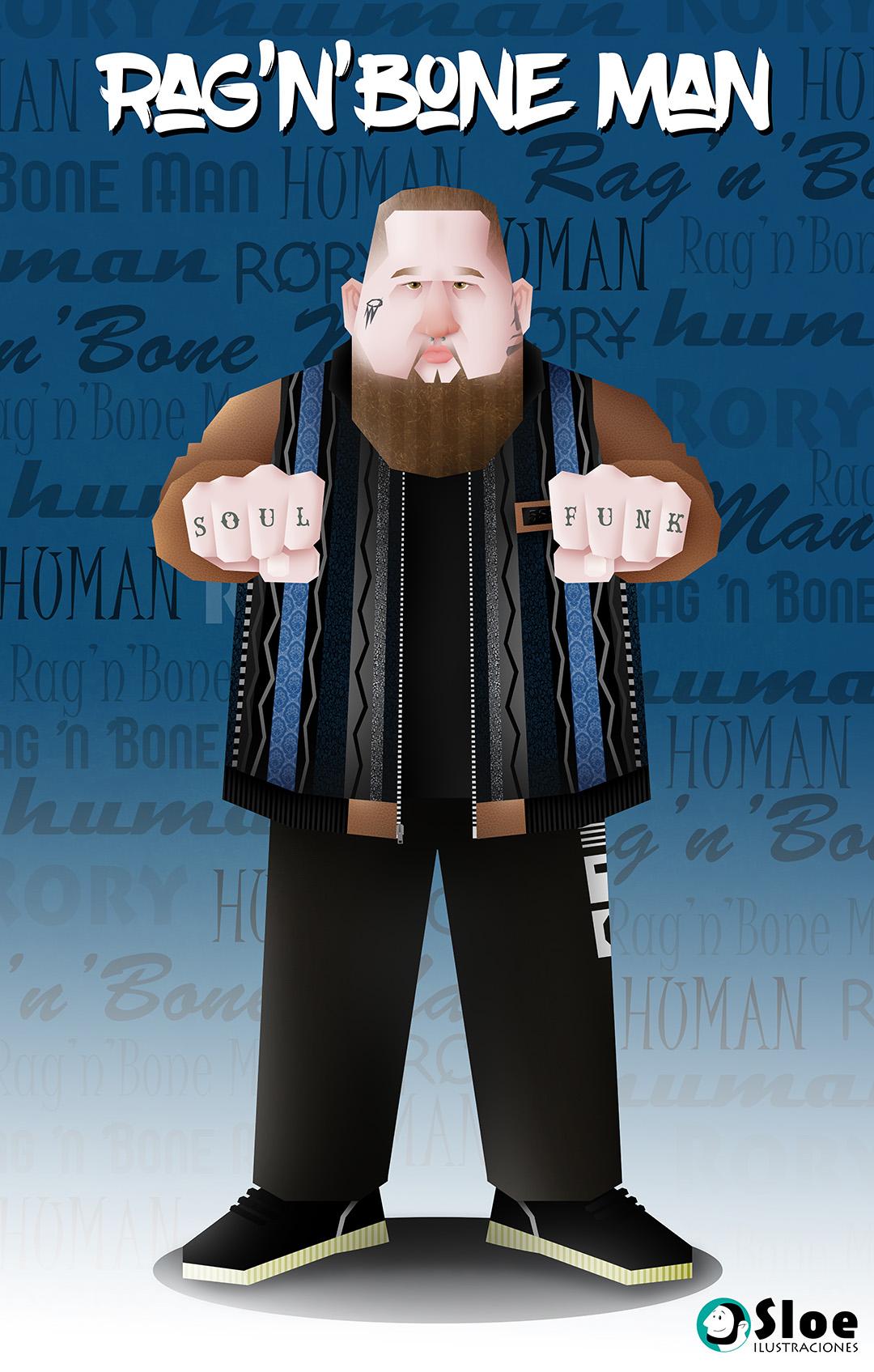 Rag'n'bone man 2018