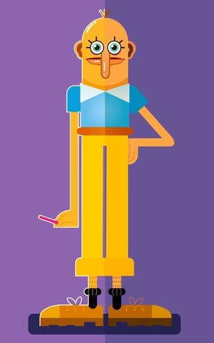 Vector Character Design