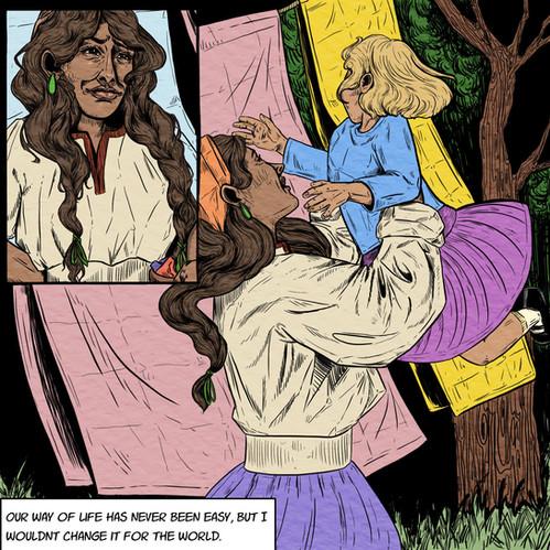 Migration Comic Page