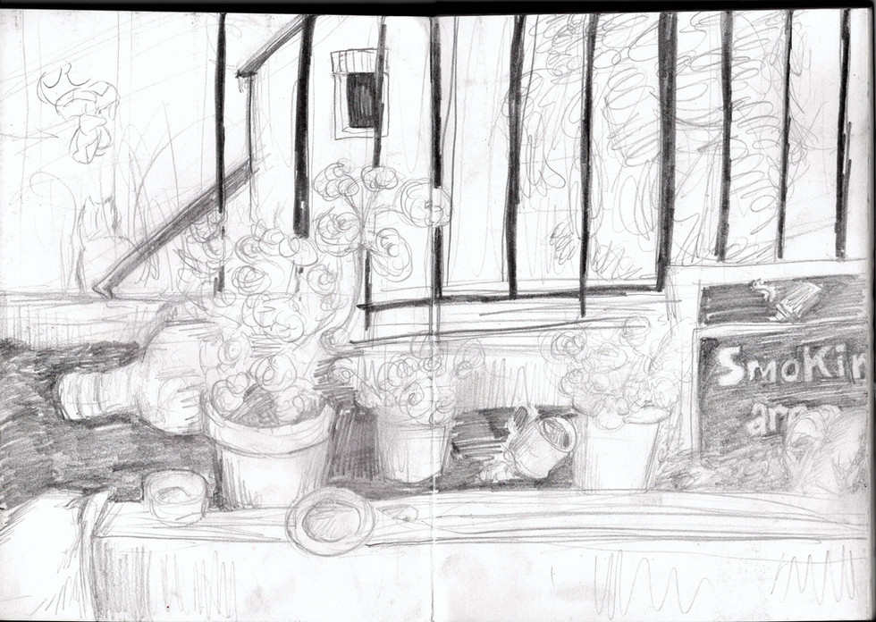 Reportage Drawing 7