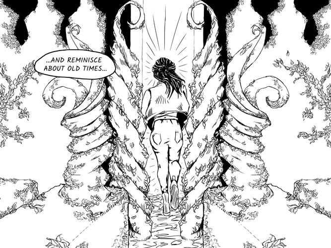 Comic Ink Illustration