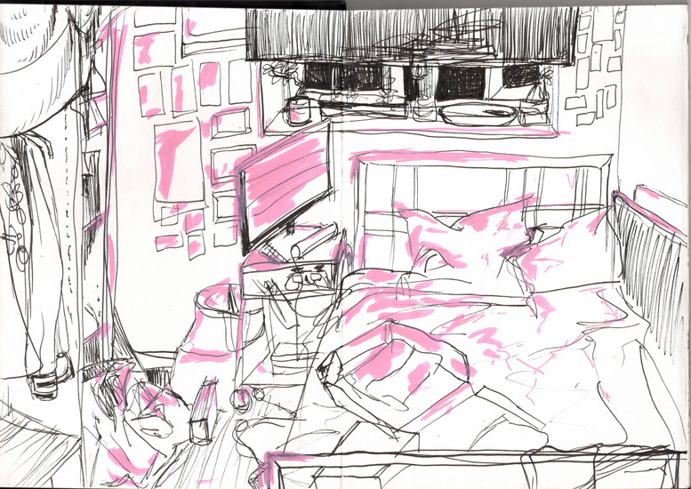 Reportage Drawing 2