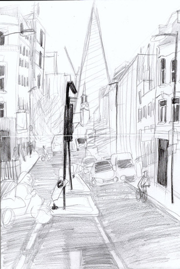 Reportage Drawing 3