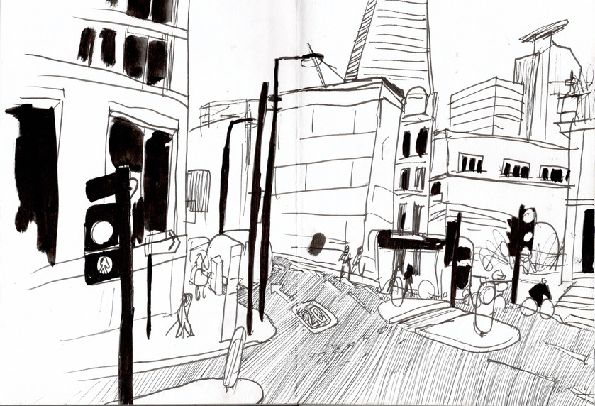 Reportage Drawing 1