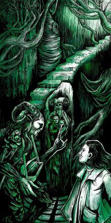 Pans Labyrinth Illustration