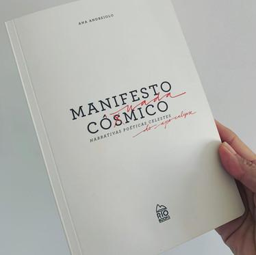 Livro Manifesto Cósmico Nada Cômico