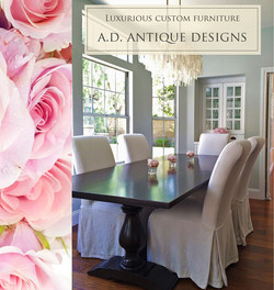 AD Pedastol Table and Roses