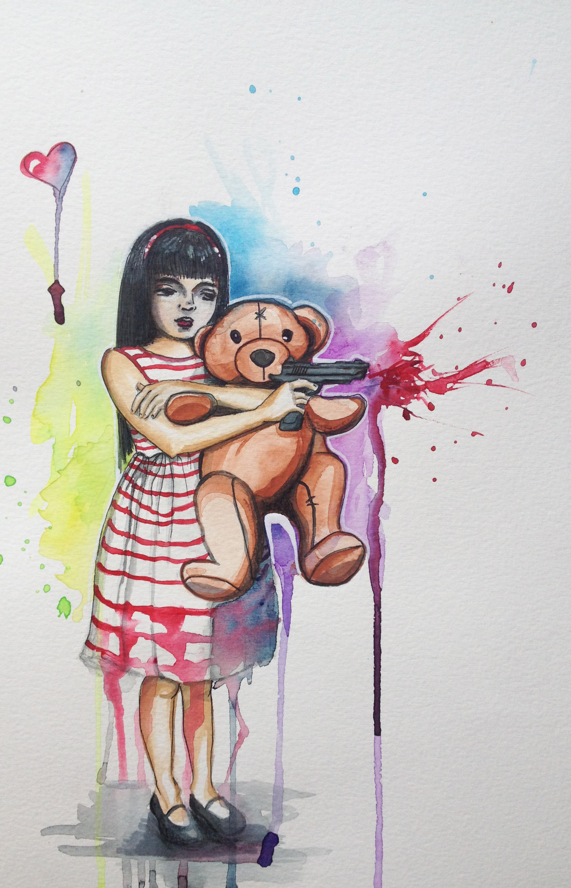 Teddy And A Gun