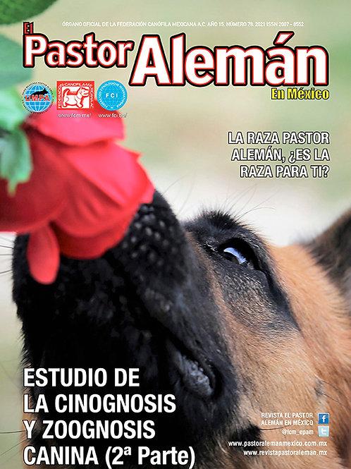 Revista el Pastor Alemán en México Edición 78