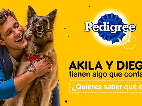 Diego Boneta y Akila en un LIVE para conocer su historia