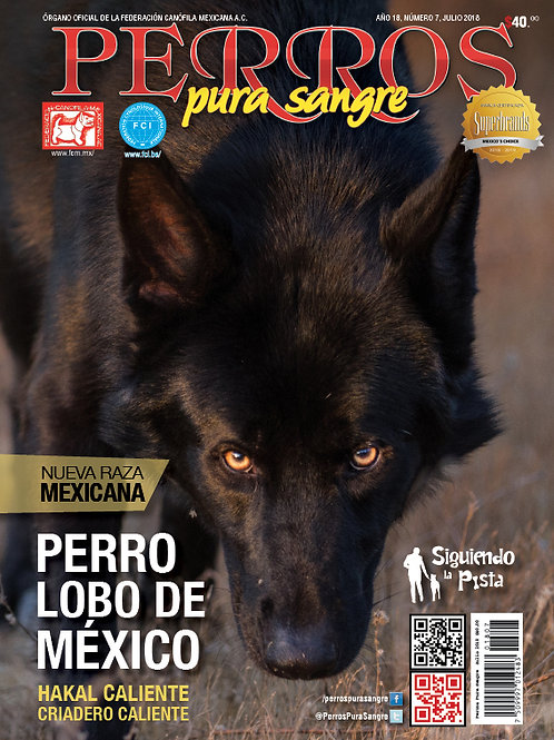 Revista Perros Pura Sangre Perro Lobo de México Calupoh