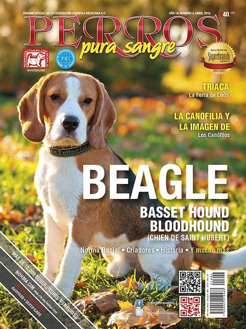 Revista Perros Pura Sangre Beagle, Basset Hound, Bloodhound