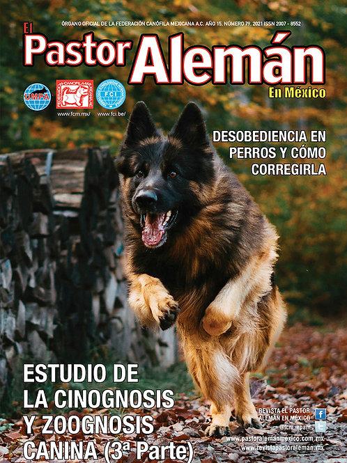 Revista el Pastor Alemán en México Edición 79