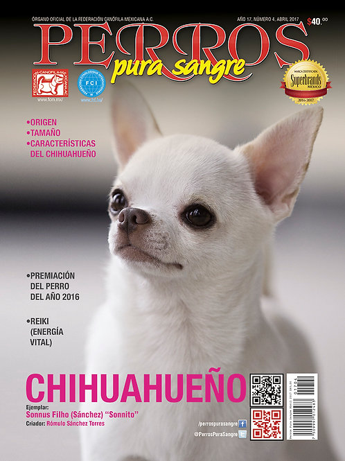 Revista Perros Pura Sangre Chihuahueño