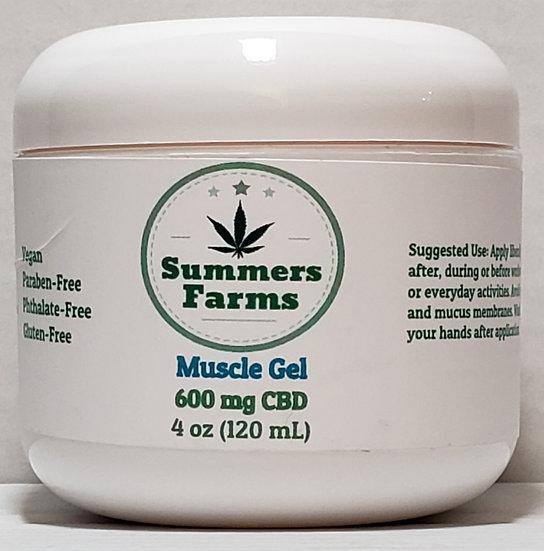 CBD Muscle Gel 600 mg