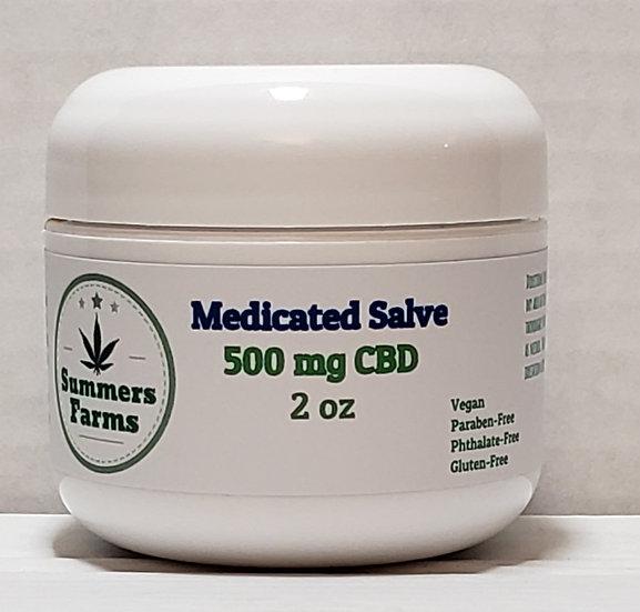 Medicated Salve w/ 500mg CBD