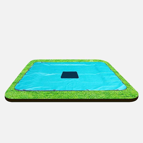 Capital Rectangular In-ground Trampoline Cover
