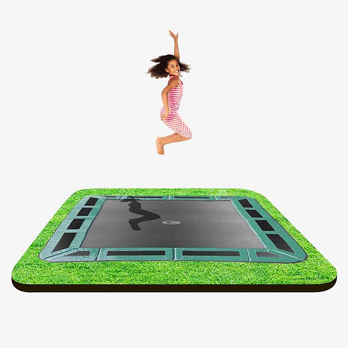 Capital Rectangular In-ground Trampoline