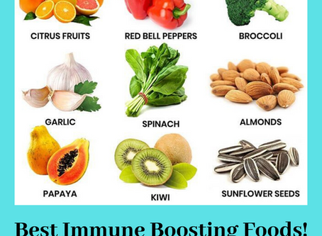 9 IMMUNITY BOOSTING SUPERFOODS TO KEEP YOU HEALTHY THIS FLU SEASON!
