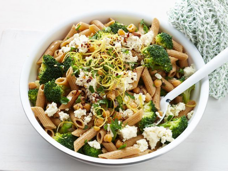 A healthy pasta recipe that won't upset your stomach!