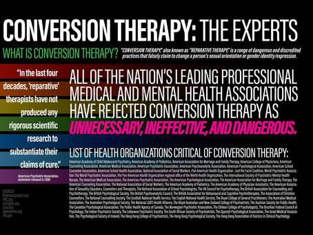 Conversion Therapy and Legislative Bans