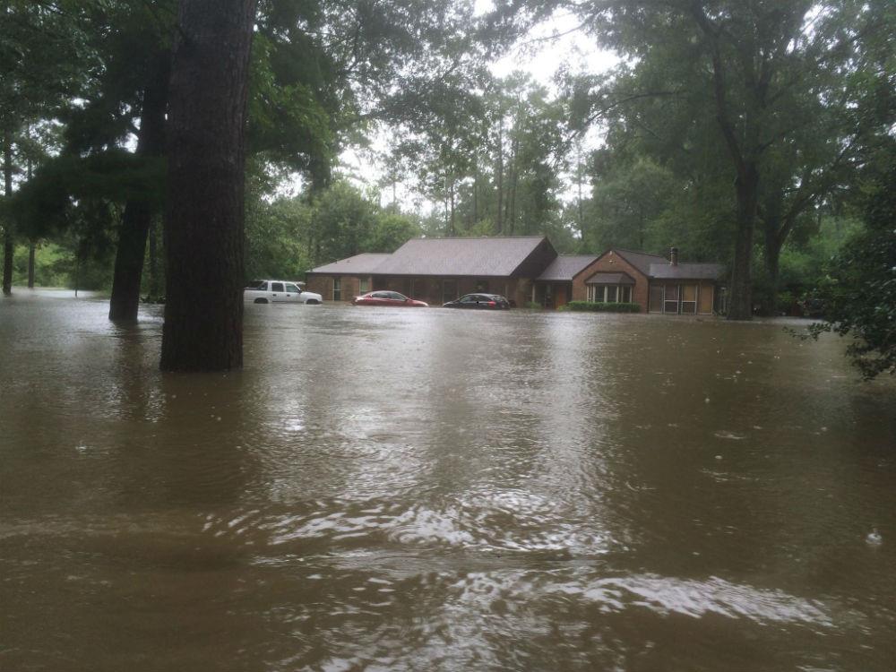 Tony Perkins home flooded