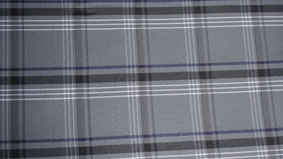 VW Gray Tartan Plaid