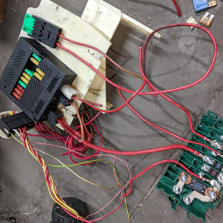 N62 Z3 Part 4: More Wiring & Fuses