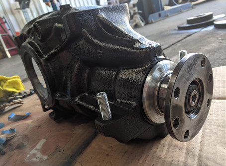M coupe Part 2: Differential Refresh