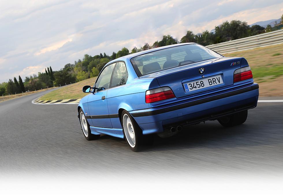 BMW E36 M3 Estoril Blue