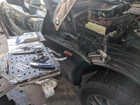 N62 Z3 Part 3: Wiring & Steering Sadness
