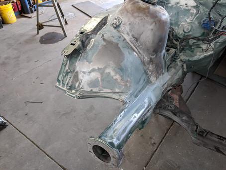 N62 Z3 Part 20: Brake Lines & Paint Prep