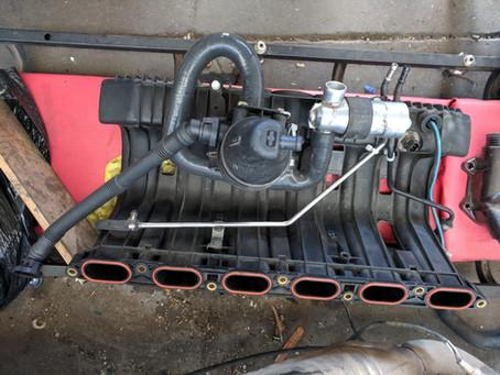 E34 S52 Intake, Exhaust & Fuel