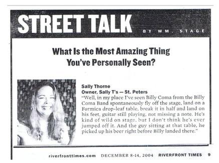 Sally Thomas Quote