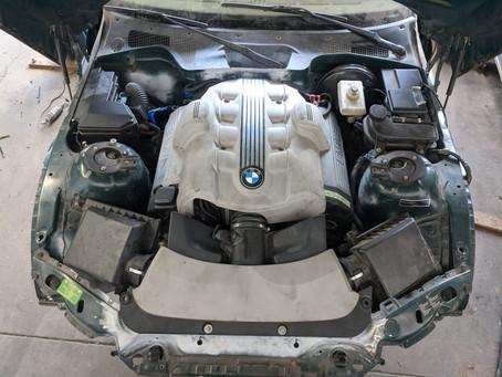 N62 Z3 Part 19: Steering Shaft & Power Steering