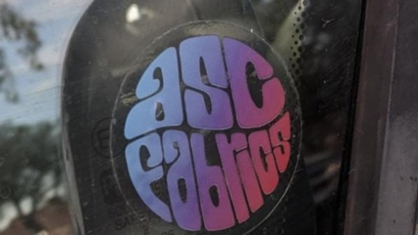 ASC Fabrics Sticker