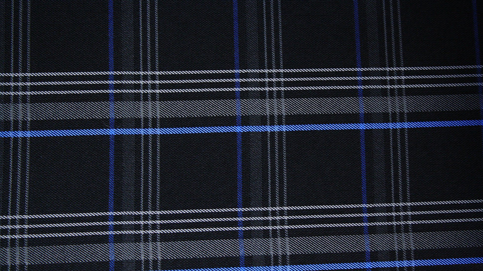 VW Blue Tartan Plaid