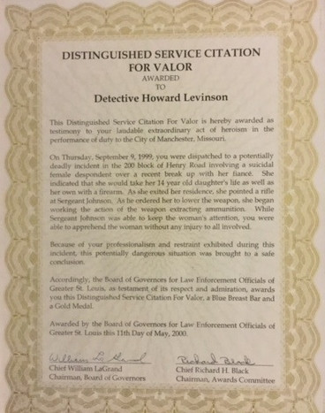 CommendationHostage Case 1999